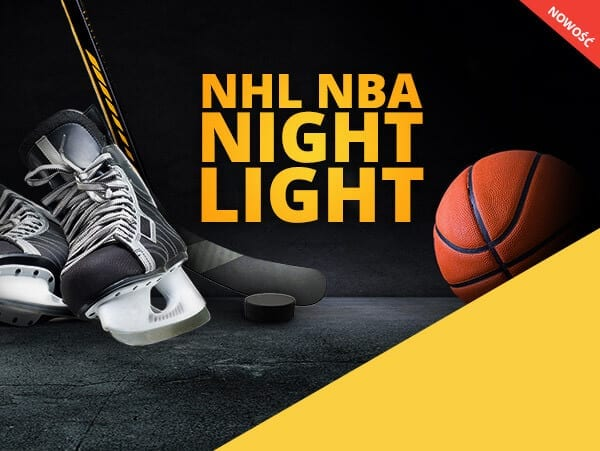 NBA NHL Night Light czyli Nocna Liga LV BET z nagrodami