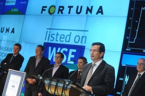 Fortuna Entertainment Group NV z 14,02 mln euro zysku netto w I kw. 2018 r.