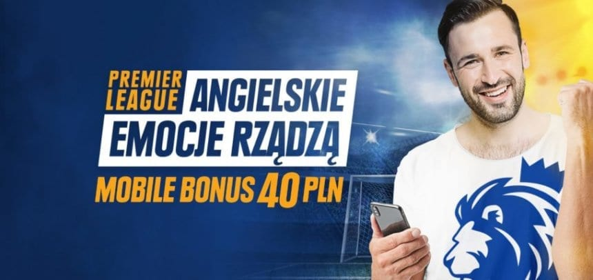 Darmowy Mobile Bonus 40 PLN na start Premier League