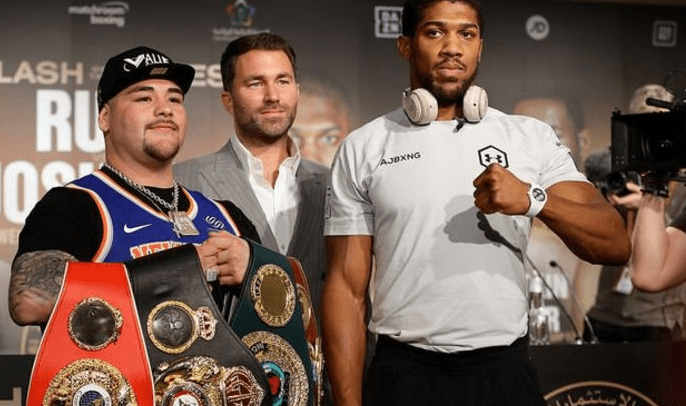 Andy Ruiz Jr vs Anthony Joshua – kursy bukmachera